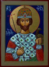 Икона Икона Вахтанг Грузинский царь
