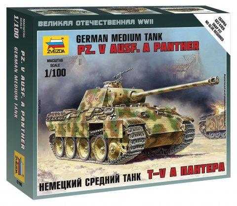"""6196 Немецкий танк """"Пантера"""" (1:100)"""