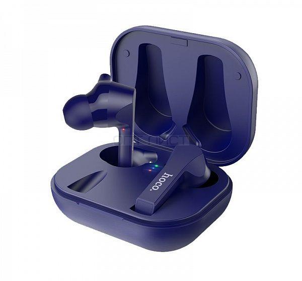 HOCO ES34 Синие наушники - гарнитура (Bluetooth)