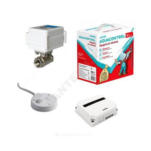 Защита от протеч Aquacontrol Ду15 Ру40 м/м 220В Neptun