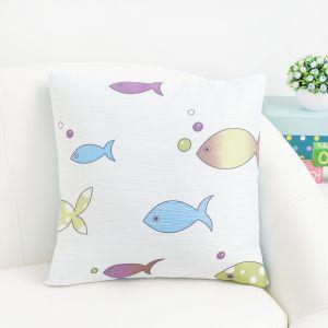 Подушка декоративная Крошка Я «Океан» цвет голубой, 40?40 см, 100% п/э