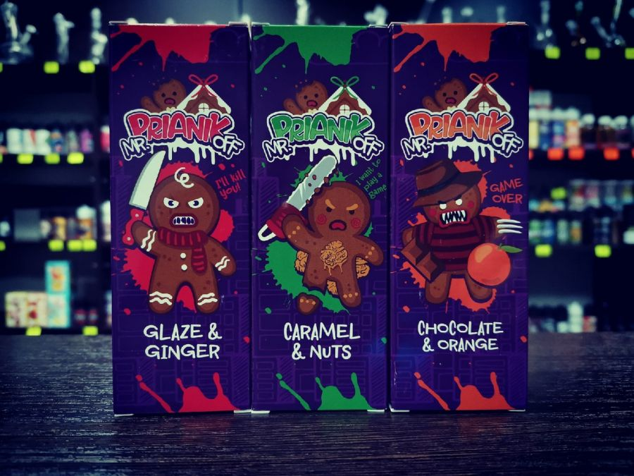 Жидкость Mr.Prianikoff 120мл (Chocolate & Orange)