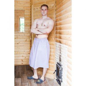"""Килт для бани и сауны """"Добропаровъ"""", 150х75 см, мужской, хлопковый, микс 2593281"""