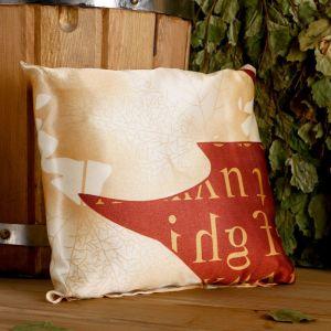 Подушка сувенирная, 22?22 см, мята, можжевельник   4779511