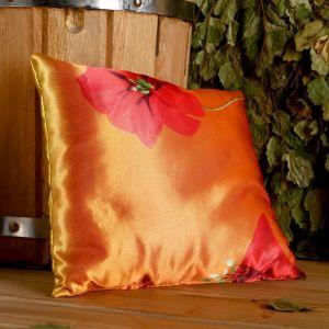 Фито-подушка сувенирная, 22?22 см,  можжевельник, морские водоросли   4793666