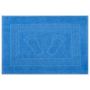 Полотенце для ног махровое 50х70 см ,670 гр/м,100% хлопок голубой   3912798