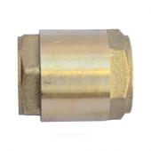 Клапан обратный латунь пружинный Ру16 м/м д/пласт Китай