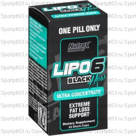 Lipo 6 Black Hers Ultra Concentrate (60 капс 120 капс) (Nutrex)