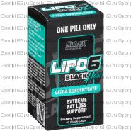 Lipo 6 Black Hers Ultra Concentrate 60 капс (Nutrex)