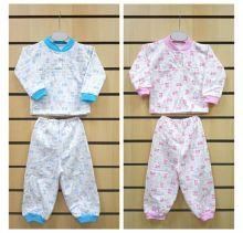 Пижама с кокеткой C-PJ023-ITn (футер с начесом)