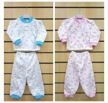 Пижама с кокеткой C-PJ023-ITn (футер 01729) Мамин Малыш