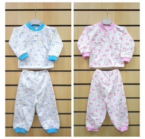 Пижама с кокеткой C-PJ023-ITn, футер с начесом