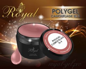 ACRYL GEL CAMOUFLAGE № 08 ROYAL 30 мл