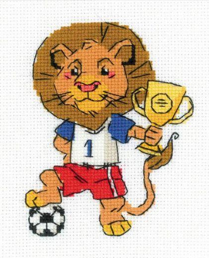 Набор для вышивания бисером Чемпион №1728 фирма Риолис
