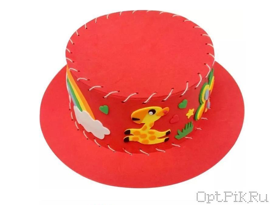 """Набор из фоамирана для создания шляпки  """"Сафари"""""""