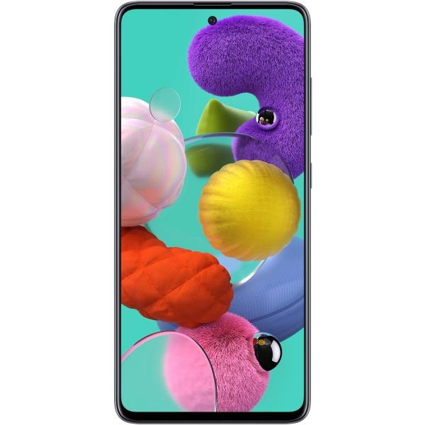 """Samsung Galaxy A51, 6.5"""", 4/64 Гб, FHD+, 4000 мА/ч, (Черный)"""
