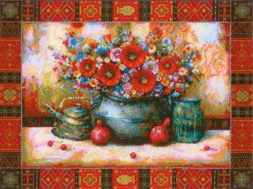 Набор для вышивания крестом Натюрморт №1771 фирма Риолис