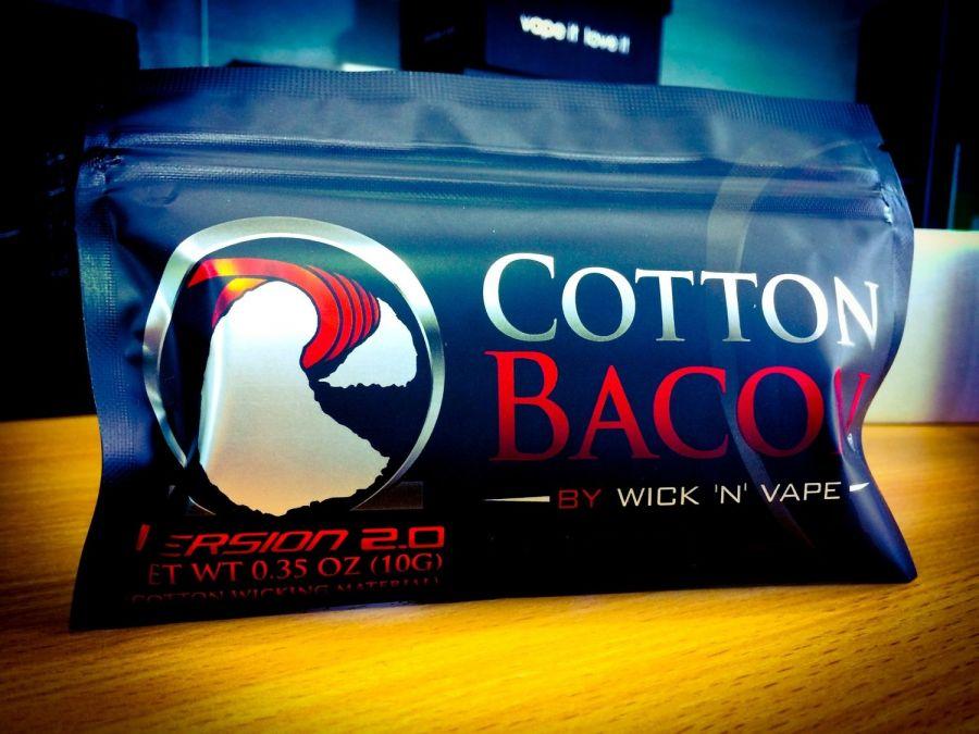 Вата Cotton Bacon v2.0 Wick 'N' Vape