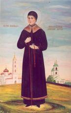 Икона Александра Дивеевская преподобная