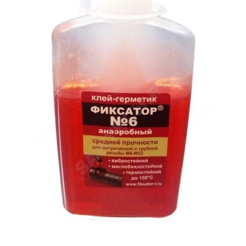 Клей-герметик анаэробный Фиксатор-6 100гр разборный