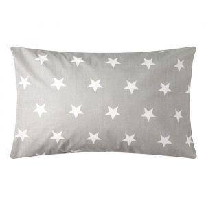 Наволочка Звезды крупные 40х60 см, цв 8129/9, бязь 4791784