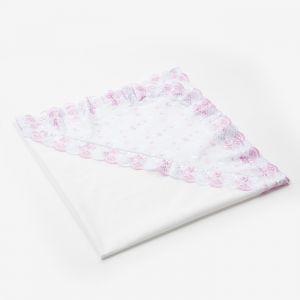 Уголок для новорождённого, размер 80*80 см, цвет белый, принт микс К27 1594782