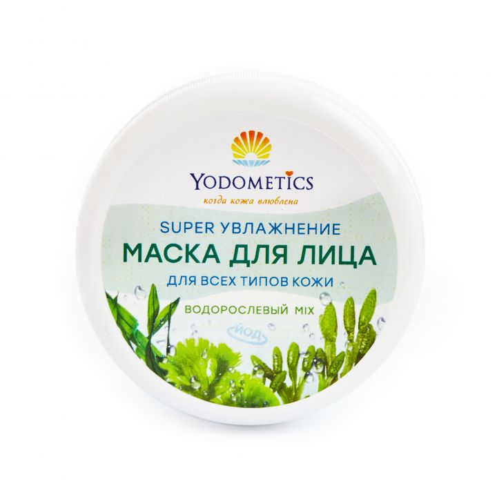 МАСКА ДЛЯ ЛИЦА ВОДОРОСЛЕВЫЙ MIX SUPER УВЛАЖНЕНИЕ для всех типов кожи, 75 мл
