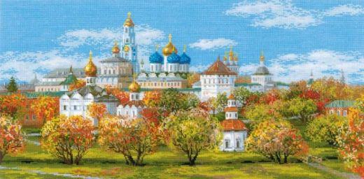 Набор для вышивания крестом Сергиев Посад № 1812 фирма Риолис