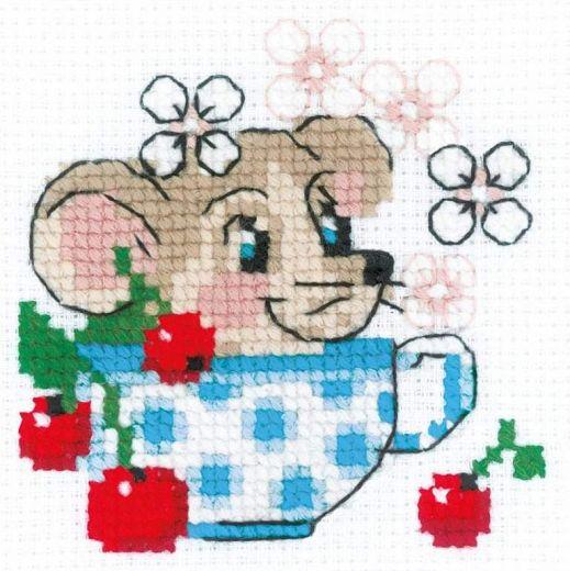 Набор для вышивания бисером День варенья №1837 фирма Риолис