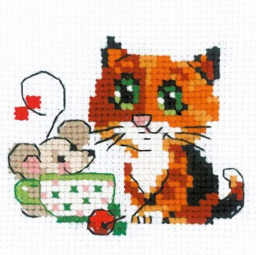 Набор для вышивания бисером Чай вдвоем №1838 фирма Риолис