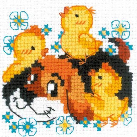 Набор для вышивания бисером Дружок №1840 фирма Риолис