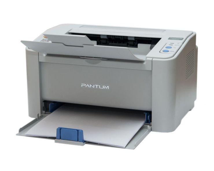 Принтер лазерный Pantum P2200: A4, 22 стр/мин, 1200x1200, 64Mb, USB2.0