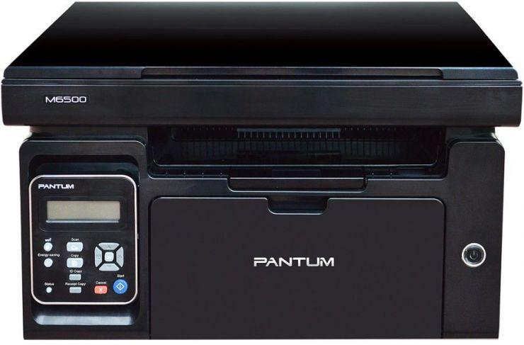 Принтер, копир, сканер Pantum M6500: А4, (п.1200х1200dpi 22 стр/м), (с.1200х1200
