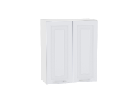 Шкаф верхний с 2-мя дверцами Ницца Royal В609 в цвете Blanco