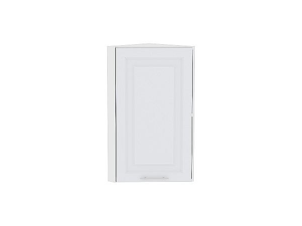 Шкаф верхний торцевой Ницца Royal ВТ230Н (Blanco)
