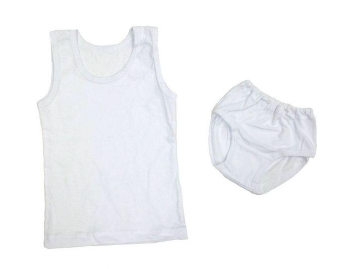 Комплект: майка, трусы W-KM047-SU (супрем белый)