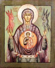Икона Знамение (копия 18 века)