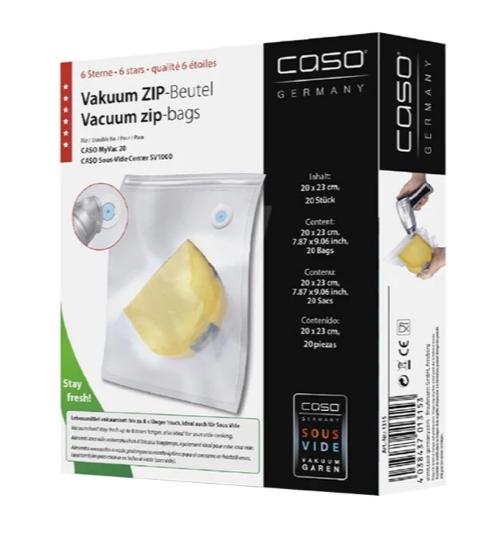 Пленка 20x23 для вакуумного упаковщика Caso