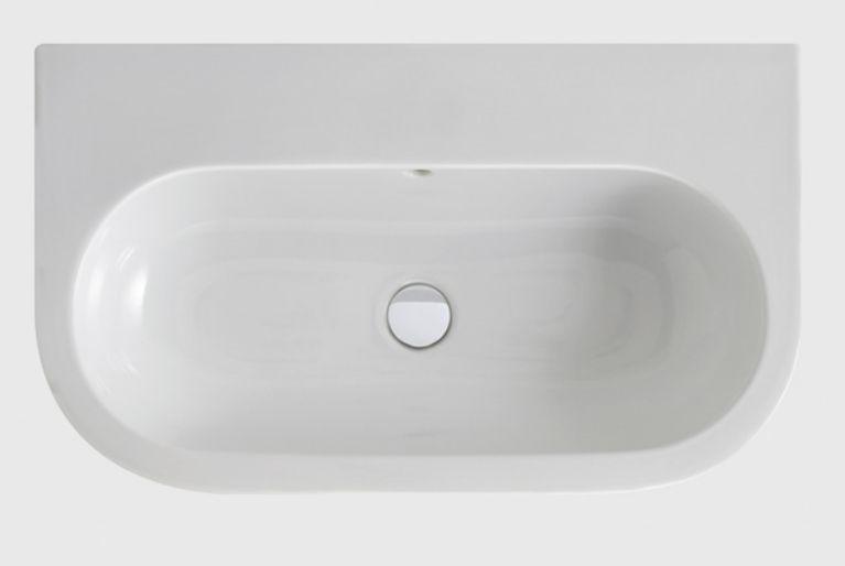 Раковина Azzurra Nuvola NULS07545T0M/(NUV200/75 bi*1) 75 x 45 ФОТО