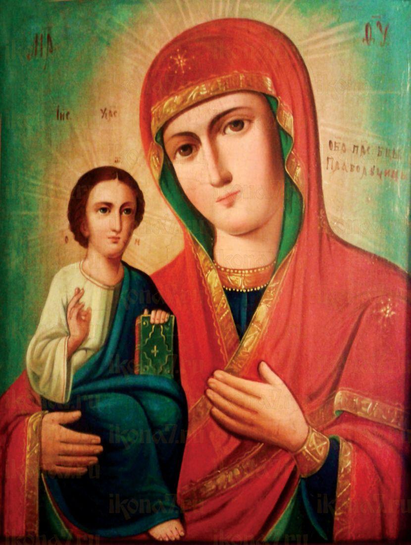 Икона Праворучица Божия Матерь