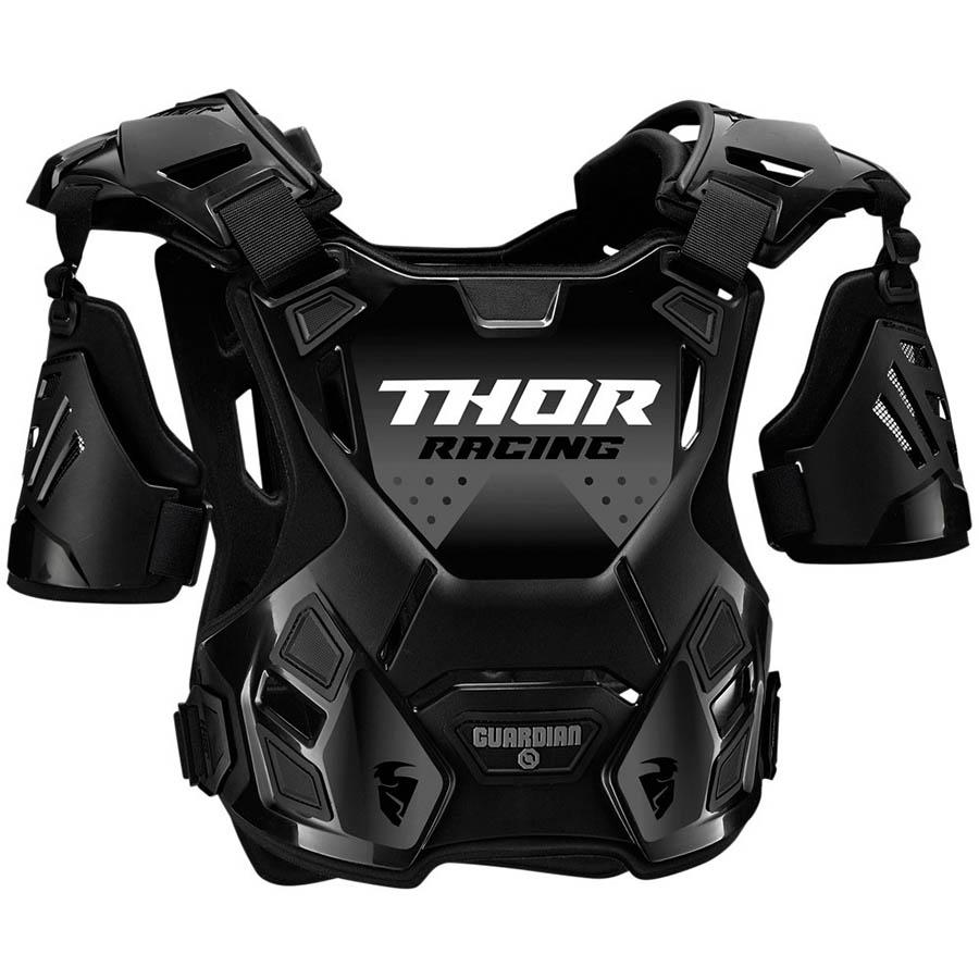 Thor Guardian Black защитный жилет, черный