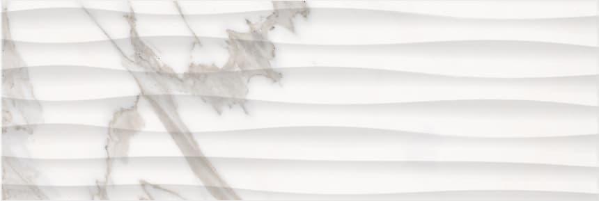 1064-0158 Настенная плитка Миланезе Дизайн 20х60 каррара волна