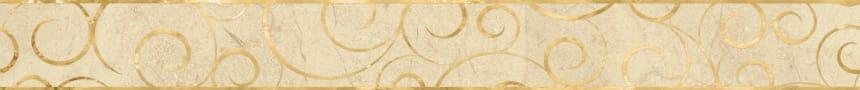 1506-0156 Бордюр настенный Миланезе Дизайн 6х60 флорал крема