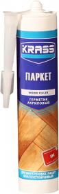 Паркет Герметик Акриловый по Дереву Влагоустойчивый 300мл Krass Дуб
