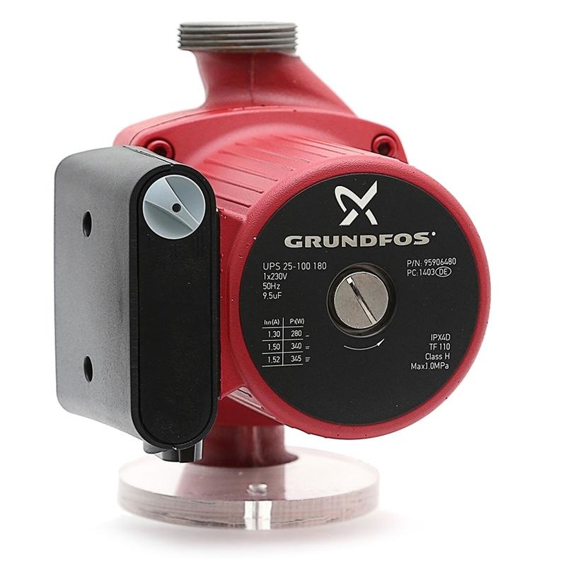 Циркуляционный насос Grundfos UPS 25-100 180 (345 Вт)