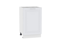 Шкаф нижний с 1-ой дверцей Ницца Royal Н500 в цвете Blanco