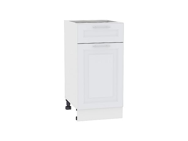 Шкаф нижний Ницца Royal Н401 (Blanco)