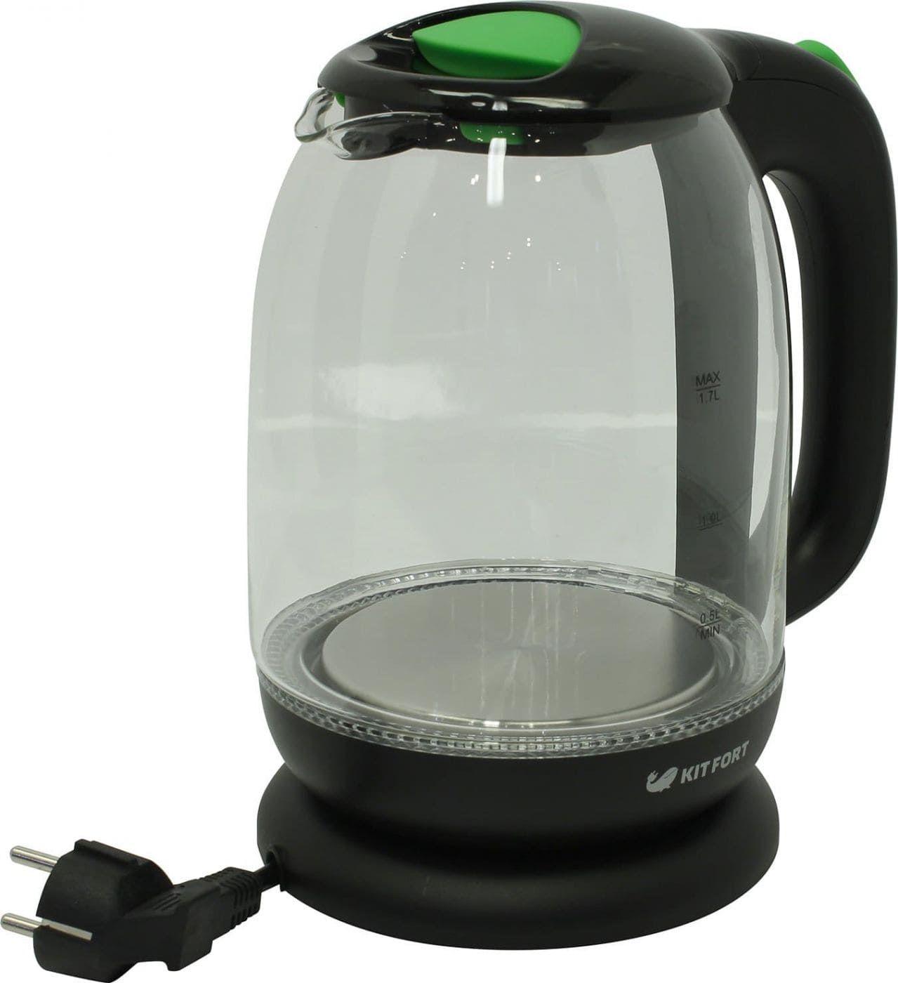 Чайник KitFort КТ-625-2 зеленый