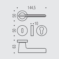 Ручка Colombo Alato JP11RSB. схема