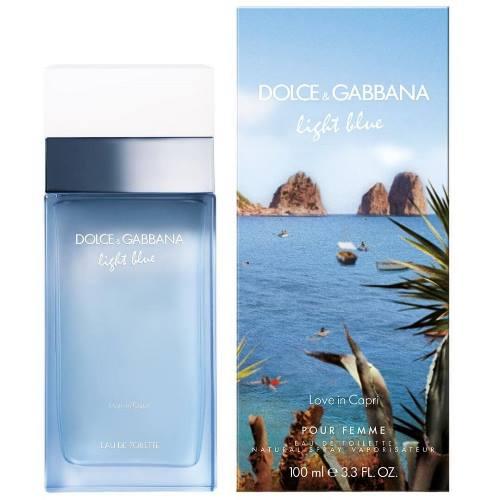 Dolce and Gabbana Туалетная вода Light Blue Love in Capri, 100 ml